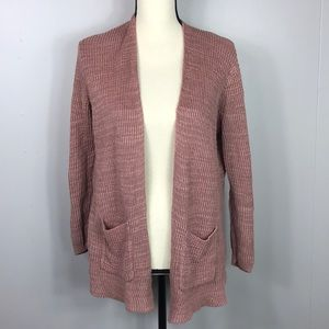 Madewell Pink Knitted Sweater Cardigan Size Small